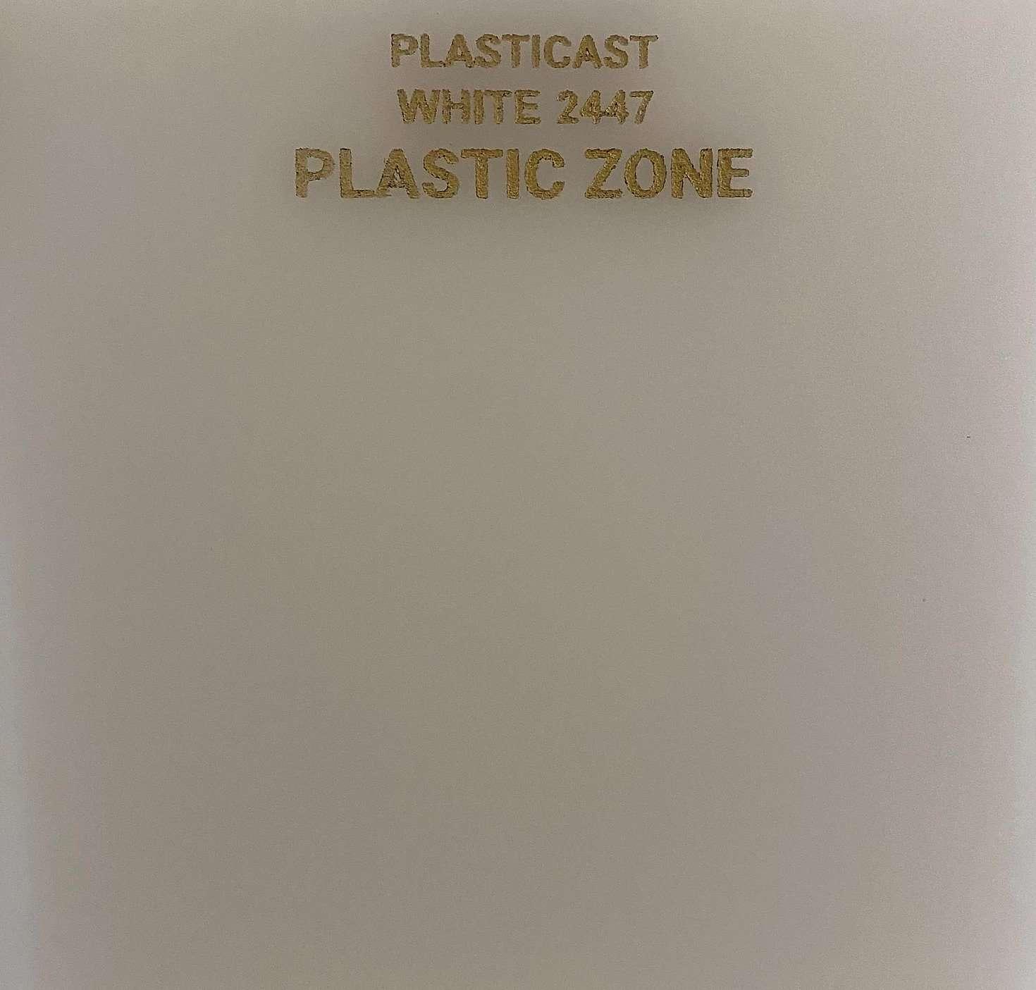 White 2447 acrylic sheet