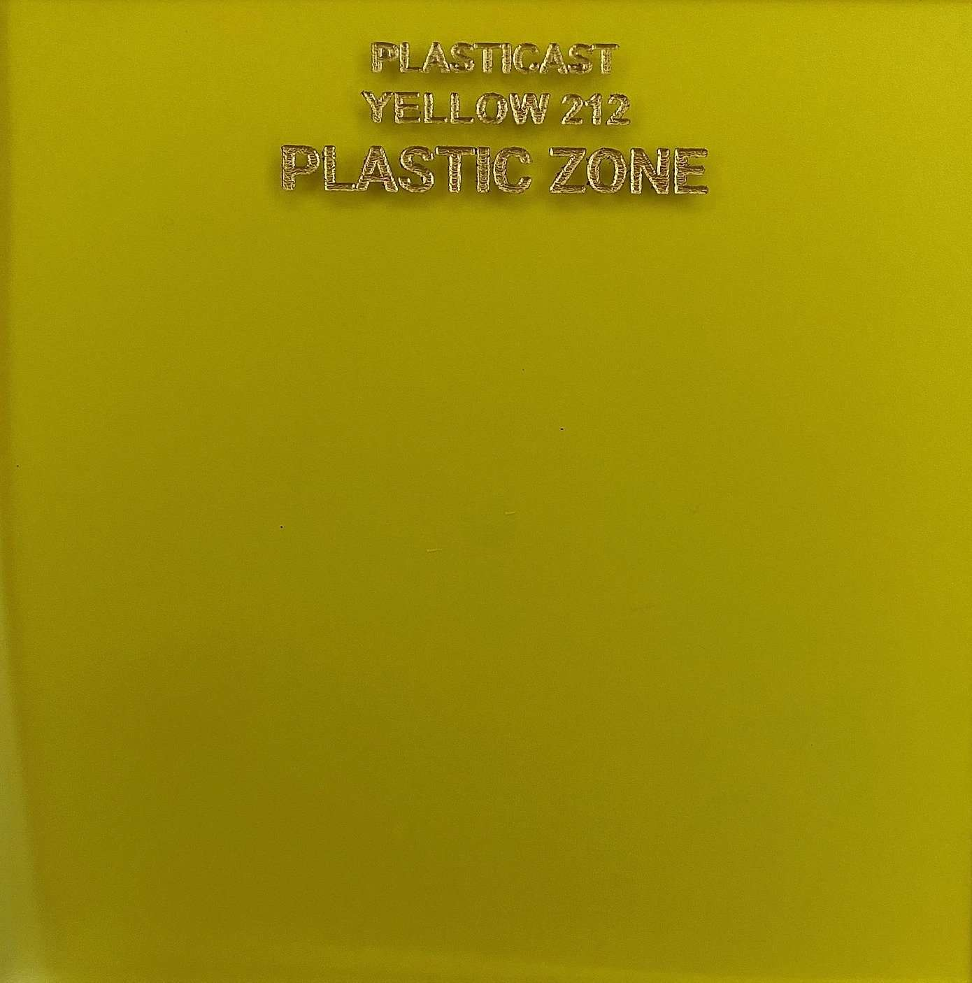 Yellow 212 color acrylic sheet