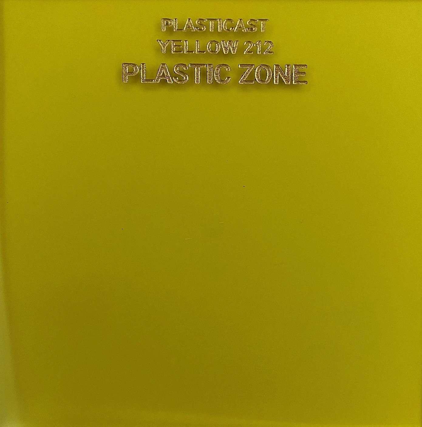 Yellow 212 color acrylic sheet