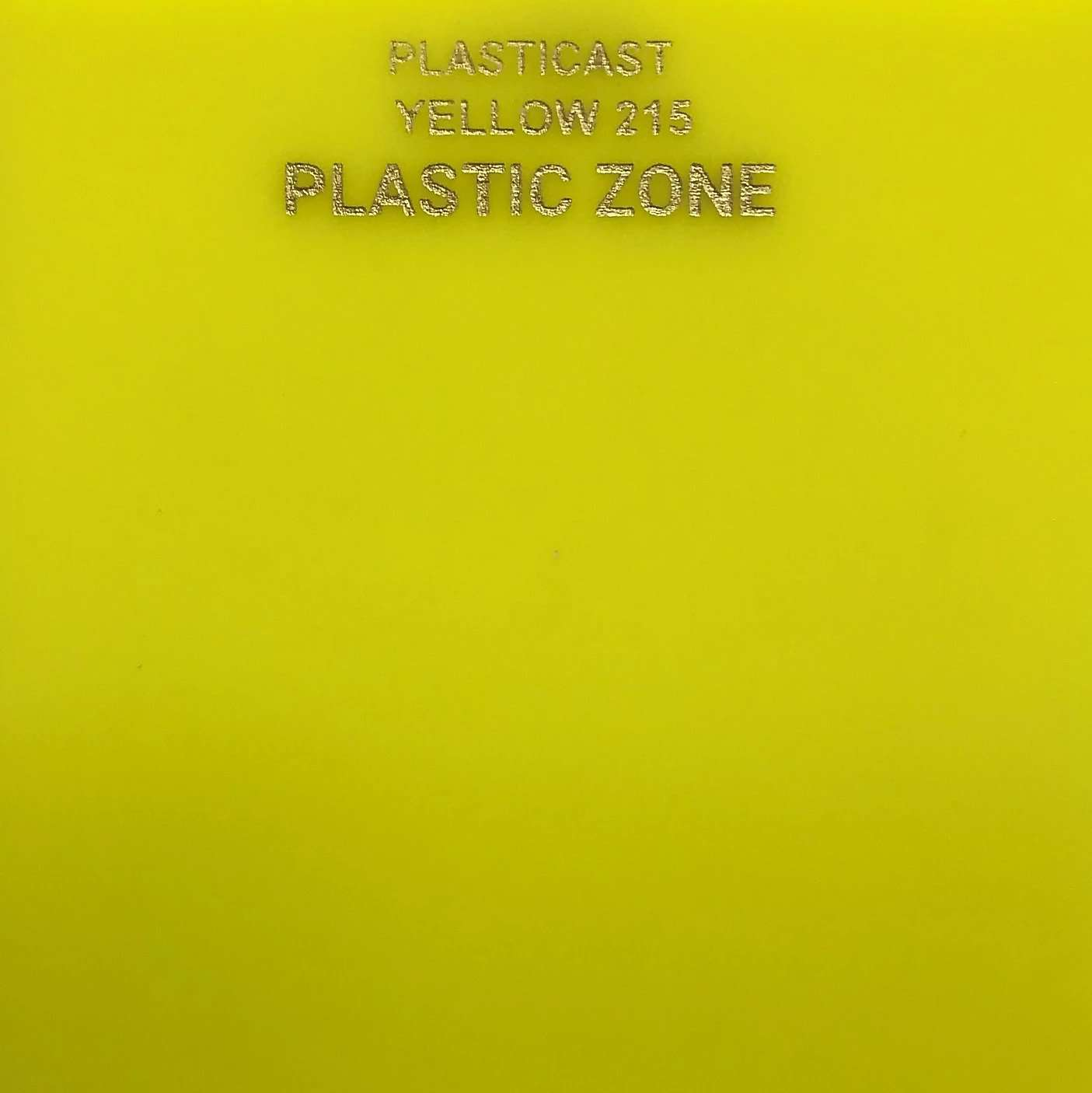Yellow 215 acrylic sheet