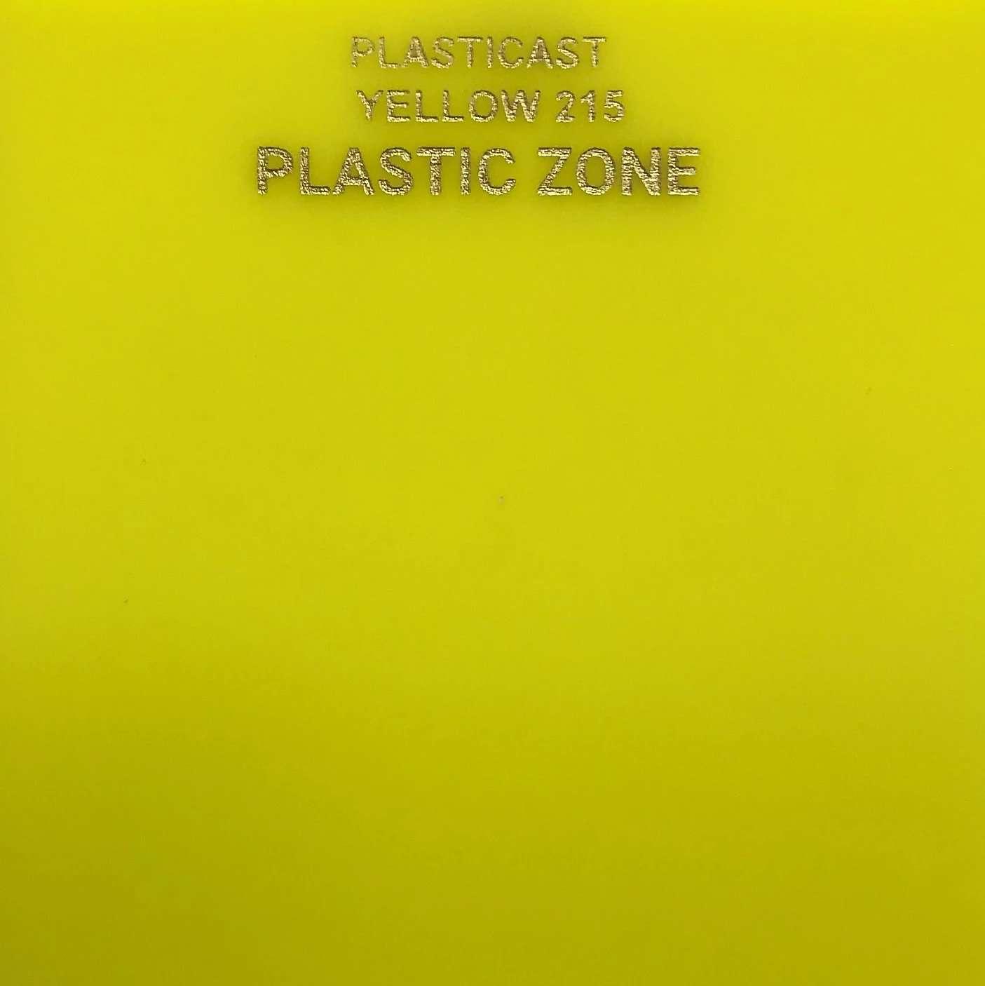 Yellow 215 acrylic sheet