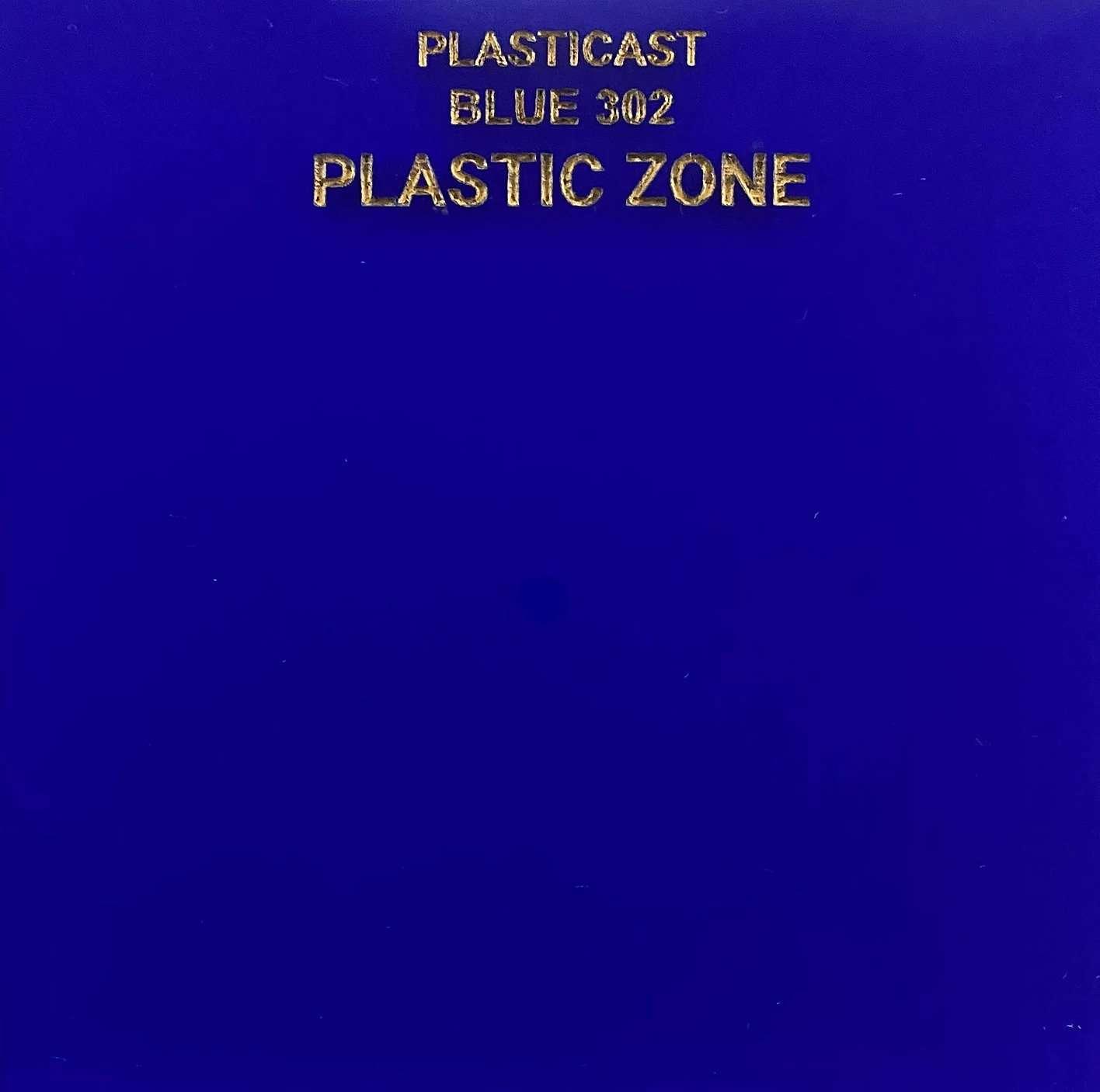 Blue 302 acrylic sheet