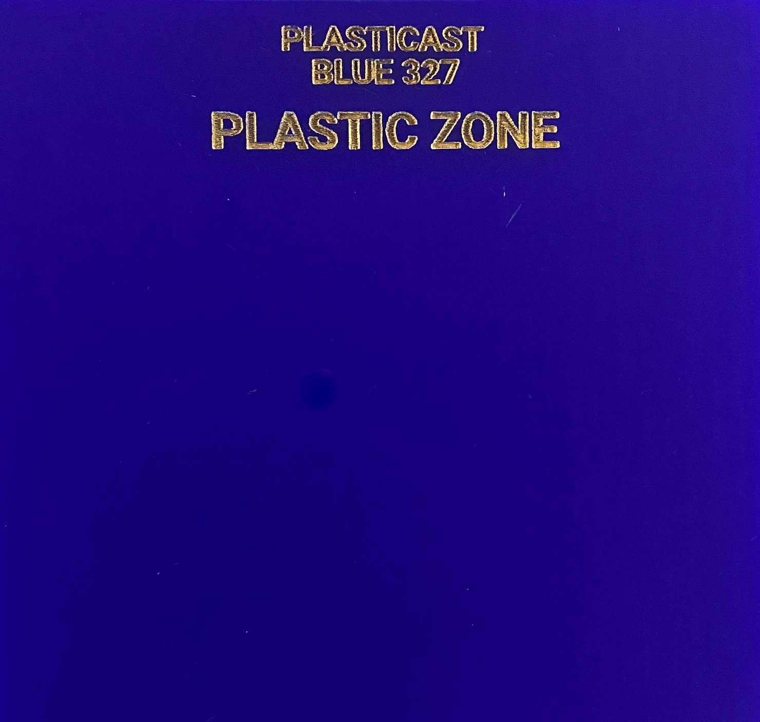 Blue 327 acrylic sheet