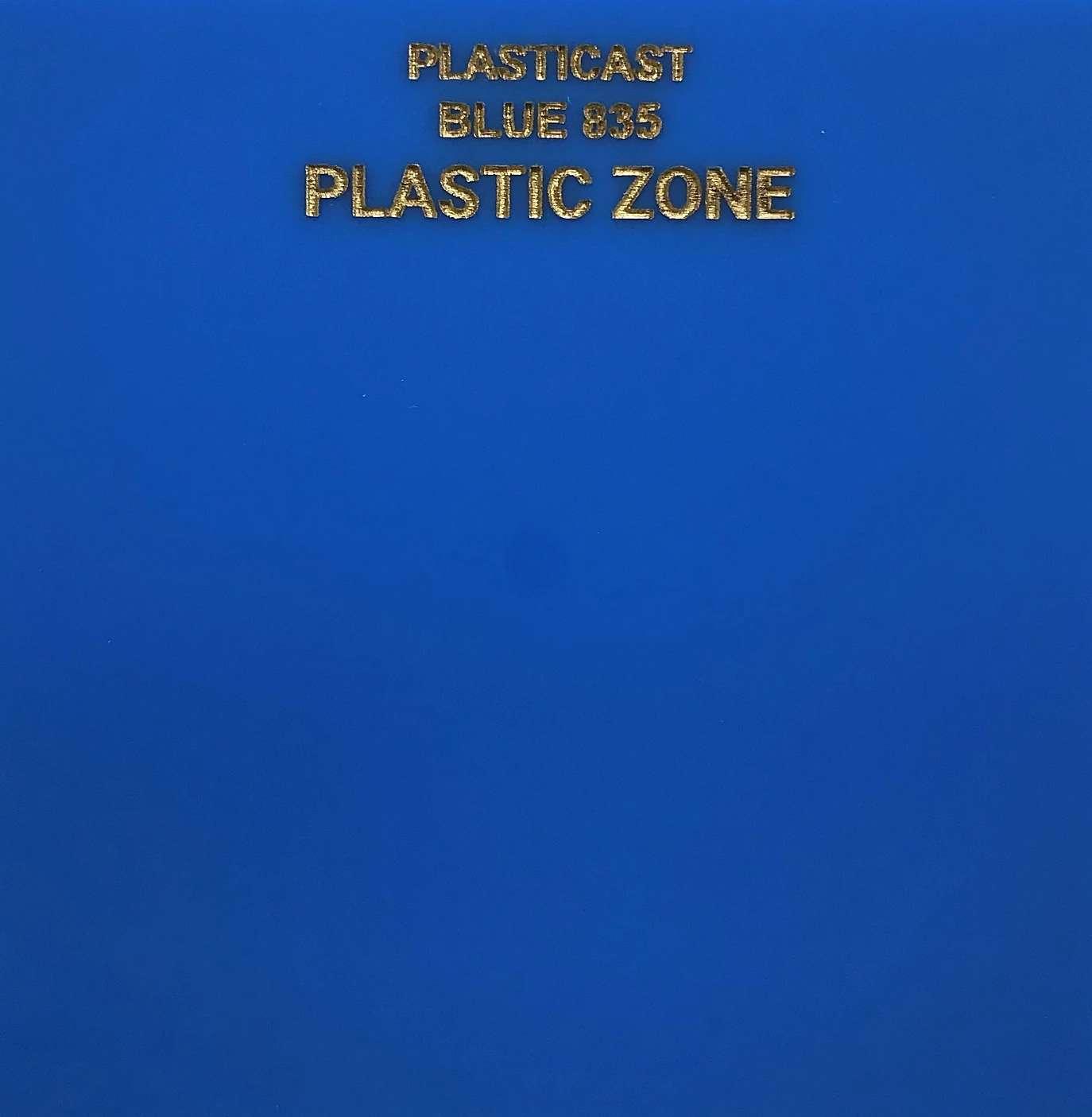 Blue 835 acrylic sheet