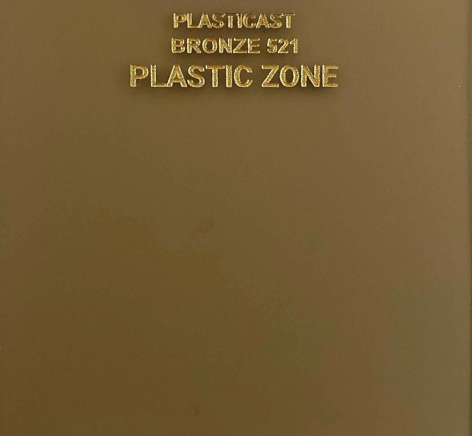 Bronze 521 acrylic sheet