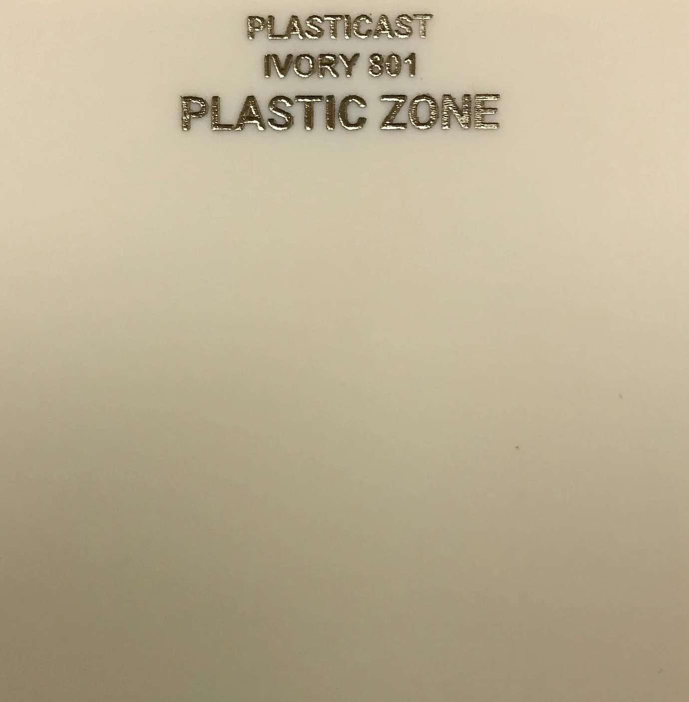 Ivory acrylic sheet 801