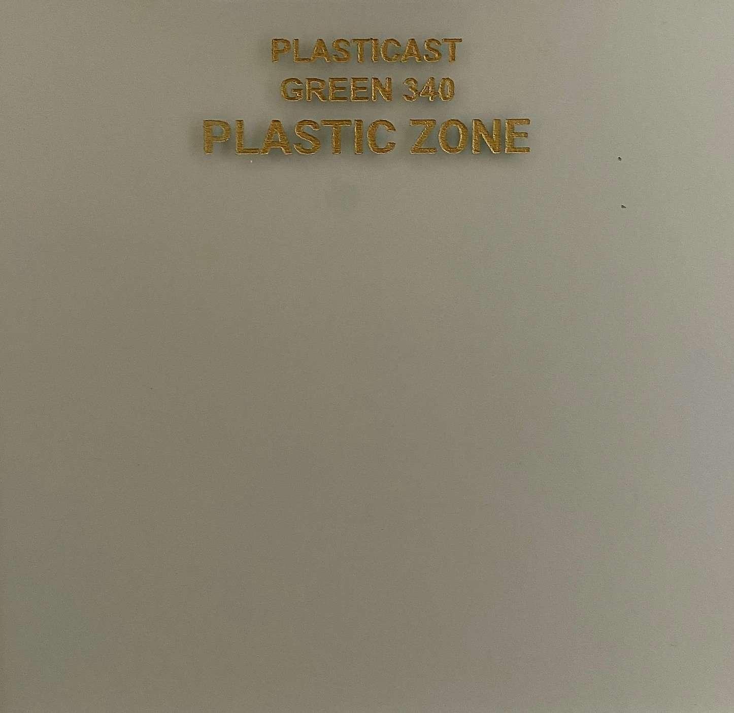 Green 340 acrylic sheet