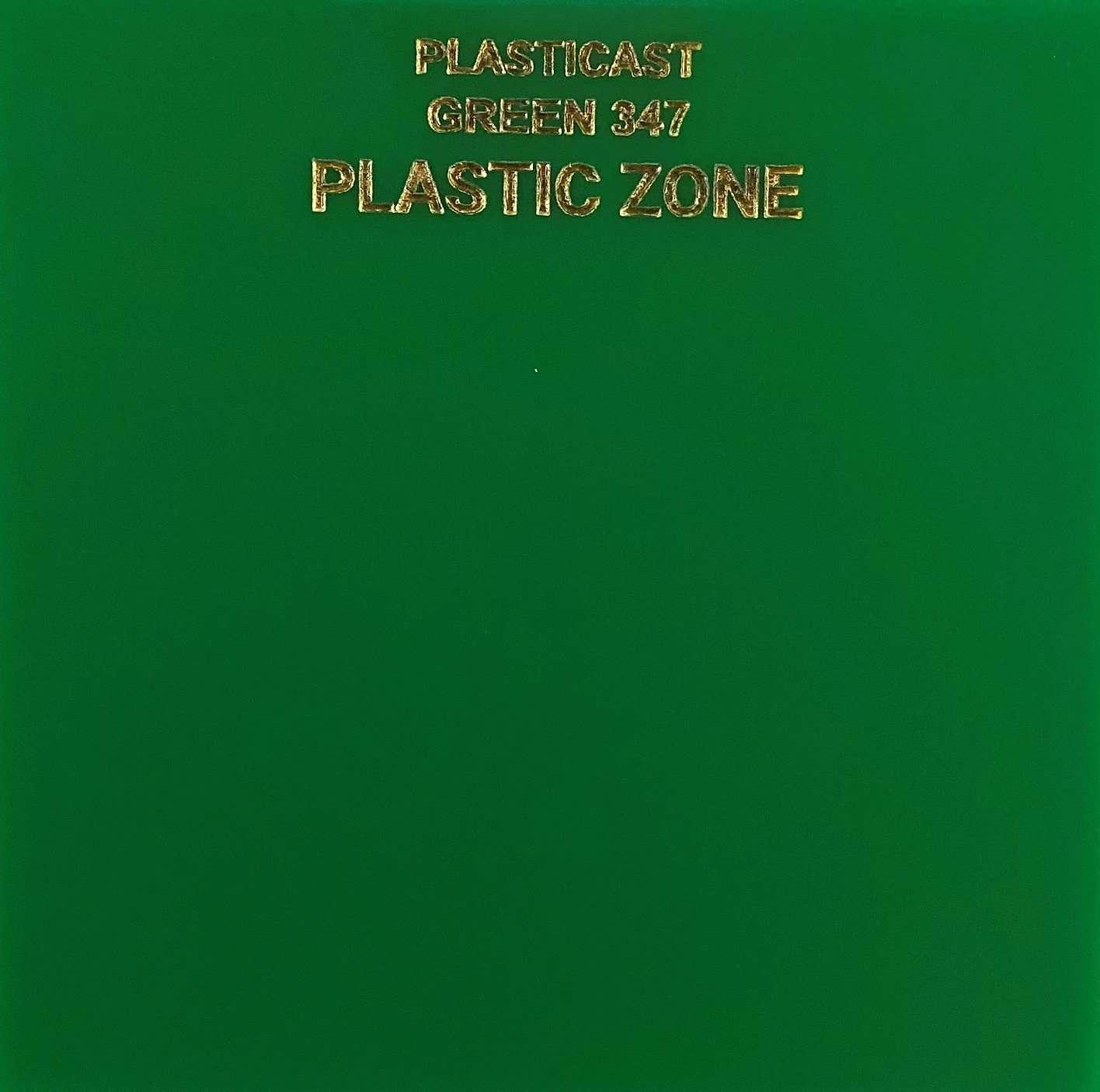 Green 347 acrylic sheet